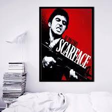 Scarface Home Decor Online Get Cheap Scarface Canvas Wall Art Aliexpress Com