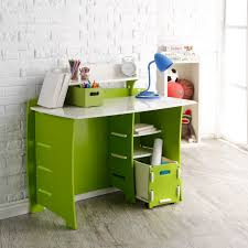 White Kids Desk With Hutch by Legare 43 In Desk With Shelf And File Cart Blue And White