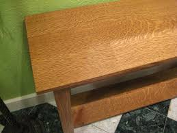 oak sofa tables quartersawn white oak