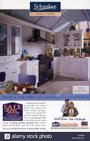 Free Home Decor Magazines Uk by 1990s Uk Mfi Schreiber Furniture Magazine Advert Stock Photo