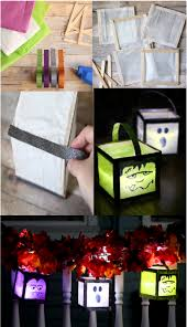 diy lights to make halloween that much spookier