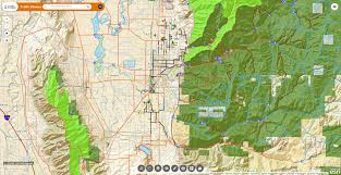 Utah Road Map by Official Site Of Cache County Utah Interactive Web Maps