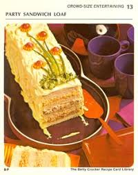frosted layered sandwich loaf 1965 sandwich loaf loaf recipes