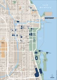 Map Of City Of Chicago by Map Of Chicago World Map