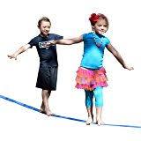 Best Backyard Zip Line Kits by Amazon Com Zip Line Fun Zl70 Zip Line Ride On 70 U0027 Green Trolley