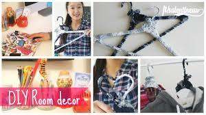 diy brandy melville clothes hanger u0026 pencil holder youtube