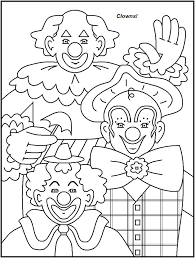 circus coloring pages printable 106 best clowns images on pinterest clowns painting and drawings