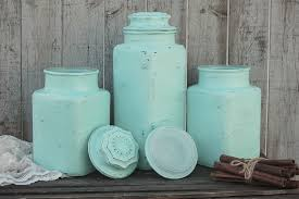 green kitchen canister set mint green kitchen canister set the vintage artistry