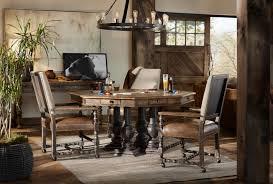 hooker furniture dining room castle hills 60in game table 5960