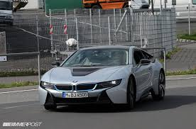future bmw i8 bmw i8 models spotted in the wild looking like something from the