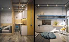 home designs built in shelving 5 studio apartments that use