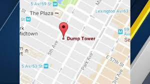 Google Maps Las Vegas Nv by Trump Tower Becomes U0027dump Tower U0027 On Google Maps Abc13 Com