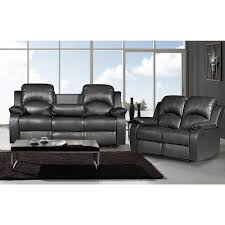 Leather Reclining Sofa Loveseat by Sofa Cool Leather Reclining Sofa And Loveseat Set Rocker