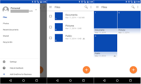 onedrive app for android microsoft onedrive gains material design refresh in beta release