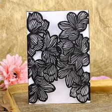 laser cut wood invitations online buy wholesale laser cut wedding invitations from china
