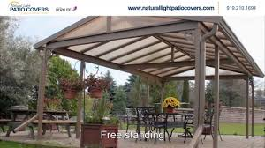 patio cover lights natural light patio covers home design photo gallery