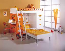 Modern Kids Bedroom Furniture Bedroom Design Outstanding Cool Orange Bunk Beds For Kids With