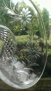 Stuart Crystal Vase Designs Stuart Crystal Vase Stunning Design Victoria Cut With Flowers