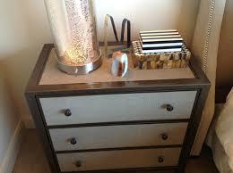 bedroom nightstand night table with storage rustic nightstand