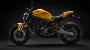 ducati motorcycle motorcycle ducati monster 821 2018 on a black background