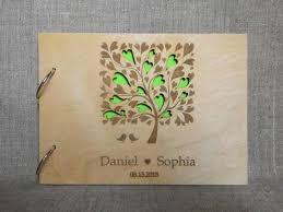 tree signing for wedding custom wedding guestbook wooden wedding guest book custom wood