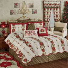 Coverlet Sets Bedding Holiday Bedding Christmas Quilts Touch Of Class