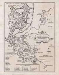 Map Of Boston Ma Boston On The Brink Of Revolution Rare U0026 Antique Maps