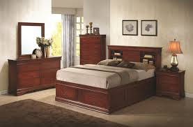 Bedroom Sets With Hidden Compartments Coaster Louis Philippe Queen Bed With Storage In Headboard And