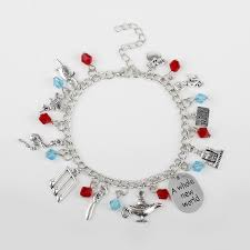 themed charm bracelet wholesale 12 themed charms silvertone assorted metal charm