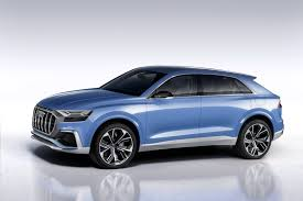 lamborghini urus blue the striking audi q8 concept is a rebadged lamborghini urus
