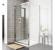 1200mm Shower Door Essential 1200mm Sliding Door Rectangular Shower Enclosure