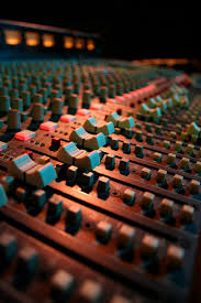 Recording Studio Mixing Desk by Mixing Console Howlingpixel