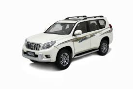 toyota mini car toyota land cruiser prado 2009 1 18 scale diecast model car wholesale