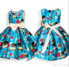 Little Girls Clothing Stores 2017 New Little Girls Moana Autumn Spring Sweet U0027s Dress With