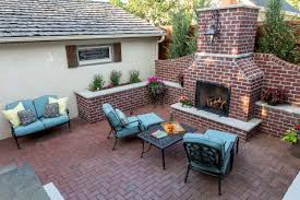 backyard patios with pavers home outdoor decoration