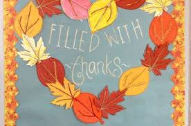thanksgiving bulletin board kid thanksgiving blessings