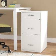 Desk With Filing Cabinet Drawer Filing Cabinets You Ll Wayfair