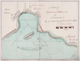 Grand Cayman Map The Island Of Grand Cayman By George Gauld U003e The Caribbean U003e Maps