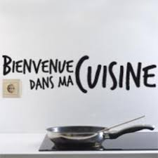 autocollant cuisine stickers bienvenue dans ma cuisine i0092 adhésif cuisine