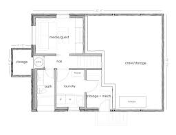 Simple House Floor Plan Marvelous Simple House Floor Plans With Basement Images Decoration
