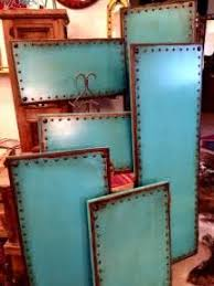 copper turquoise blue kitchen cabinets kitchen