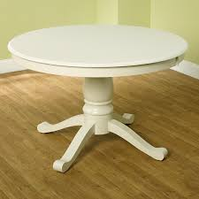 White Pedestal Table For Dining Room Innonpendercom Beautiful - Round pedestal dining table in antique white
