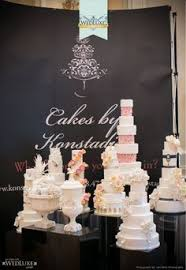 wedding expo backdrop roseland bakery s bridal show booth cake show ideas