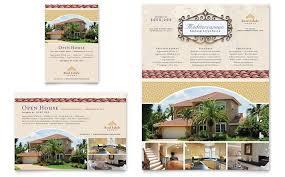 luxury real estate flyer u0026 ad template design