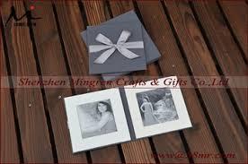 Cloth Photo Album Fabric Cloth Linen Photo Frame Album Folio View Fabric Photo