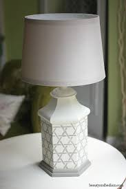 painting brass lamps before after diy