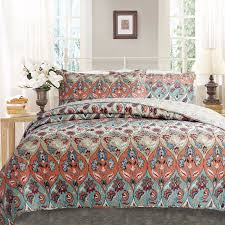 Cynthia Rowley Bedding Collection Queen Quilt Bedding Sets Quilt Pillowcases Set Oversized