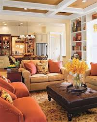 traditional small family room interior design