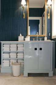 Dark Blue Bathroom Ideas by 58 Best Powder Rooms Images On Pinterest Bathroom Ideas Powder