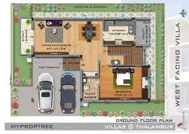 floor plan myproptree vie ar villas at thalambur omr chennai